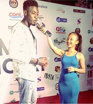 This Photo Of BBNaija Soma And A Lady With